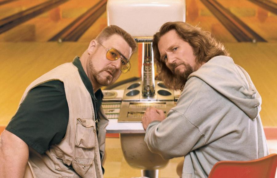Walter+Sobchak+%28left%29%2C+played+by+John+Goodman%2C+and+Jeffrey+Lebowski%2C+played+by+Jeff+Bridges%2C+in+The+Big+Lebowski.+The+movie+came+out+20+years+ago.