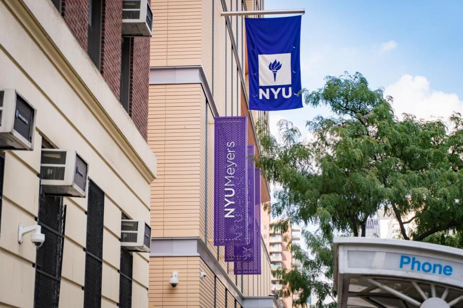 NYU Rory Meyers College of Nursing on E 26 St and 1 Ave