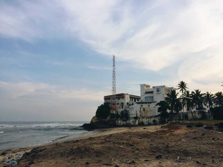 Osu Castle was a major port for the Transatlantic Slave Trade. NYU Accra students had the opportunity to visit the castle, and several undergraduate students are taking a course on the Transatlantic Slave Trade as told from the African perspective.