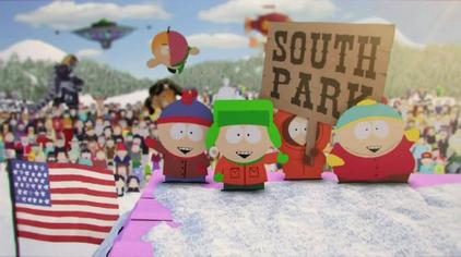The South Park title-card since season 17. (Wikimedia)