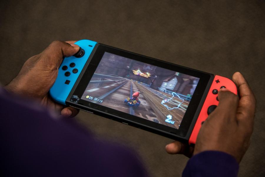 Though the number of exclusively local or couch multiplayer games has dwindled in recent years, fans of these sorts of games believe the experience remains unique and cannot be replicated through online multiplayer. (Photo by Sam Klein)