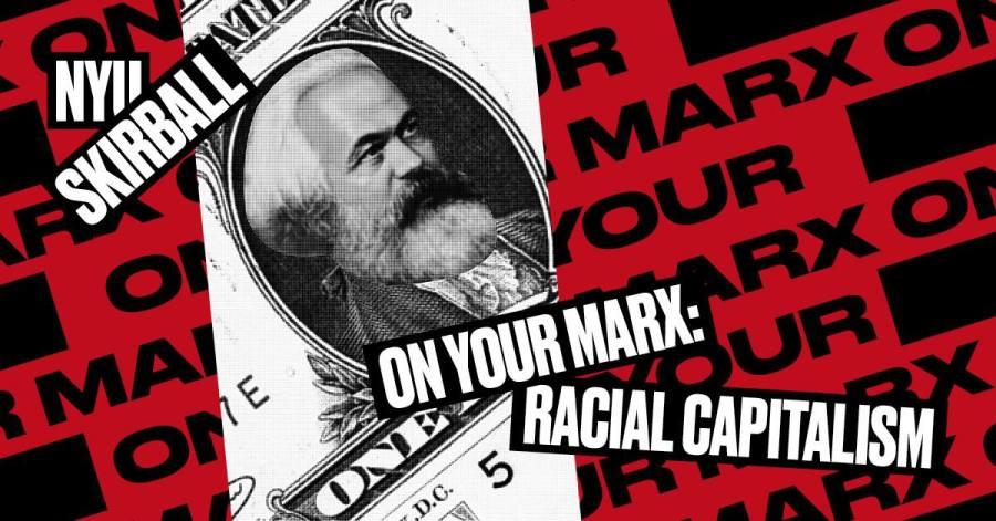 Poster of NYU Skirballs 2-week PrepSchool: On Your Marx festival celebrating Karl Marxs 200th birthday. (via facebook.com)