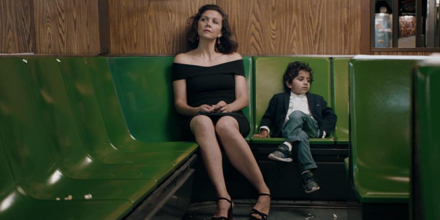 Maggie Gyllenhaal and Parker Sevak in
