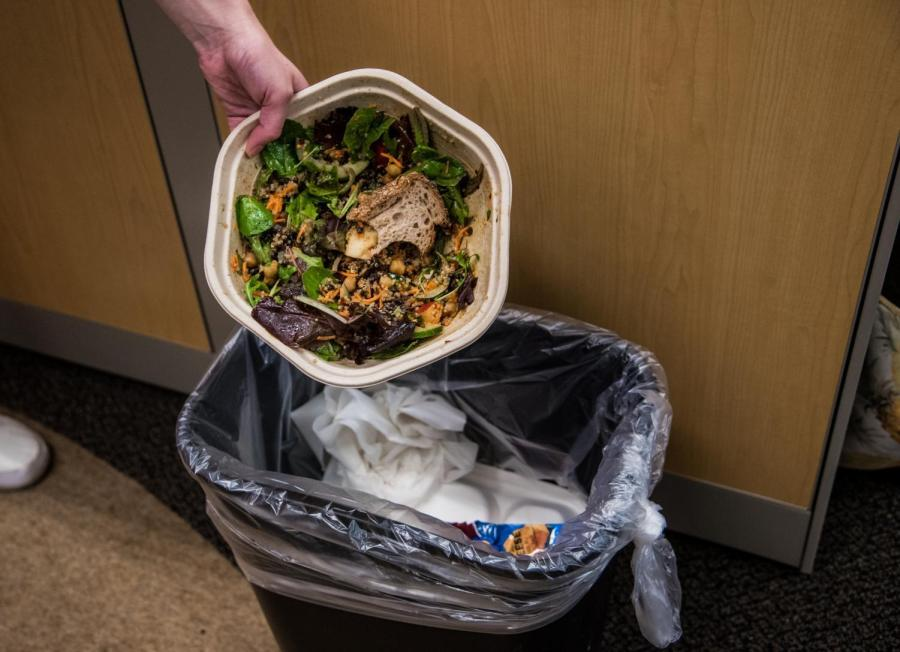 Steinhardt School of Culture, Education and Human Development participated in a summit to combat food waste on Oct. 3.