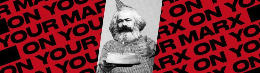 A poster for the Karl Marx Festival. (via facebook.com)