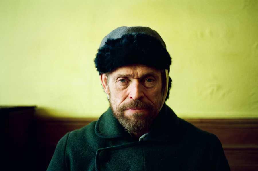 Stills of Willem Dafoe as Vincent Van Gogh for the