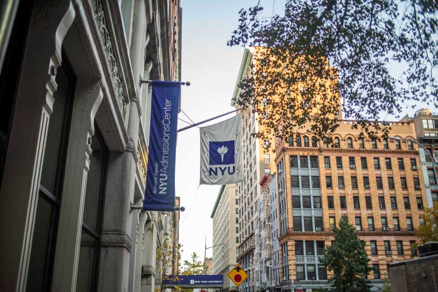 Applications to NYU have increased for the 13th year in a row. (Photo by Justin Park)