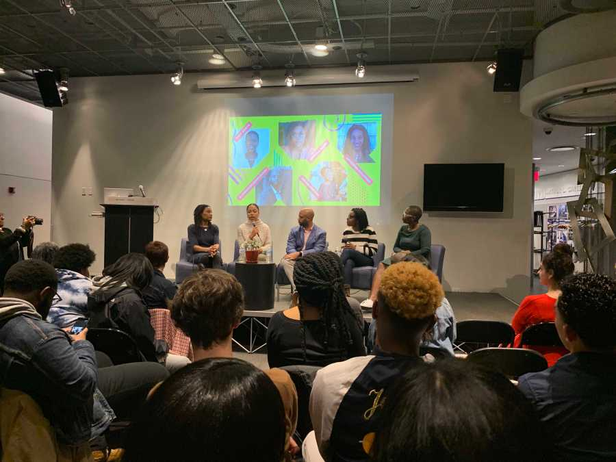 The Black Millennial Event (Photo by Emily Mason).