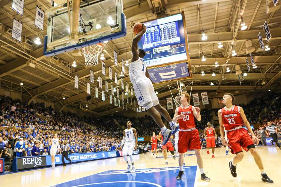Zion Williamson and the Blue Devils have exceeded expectations this season, setting the stage for a strong March Madness run. (via WikiMedia)
