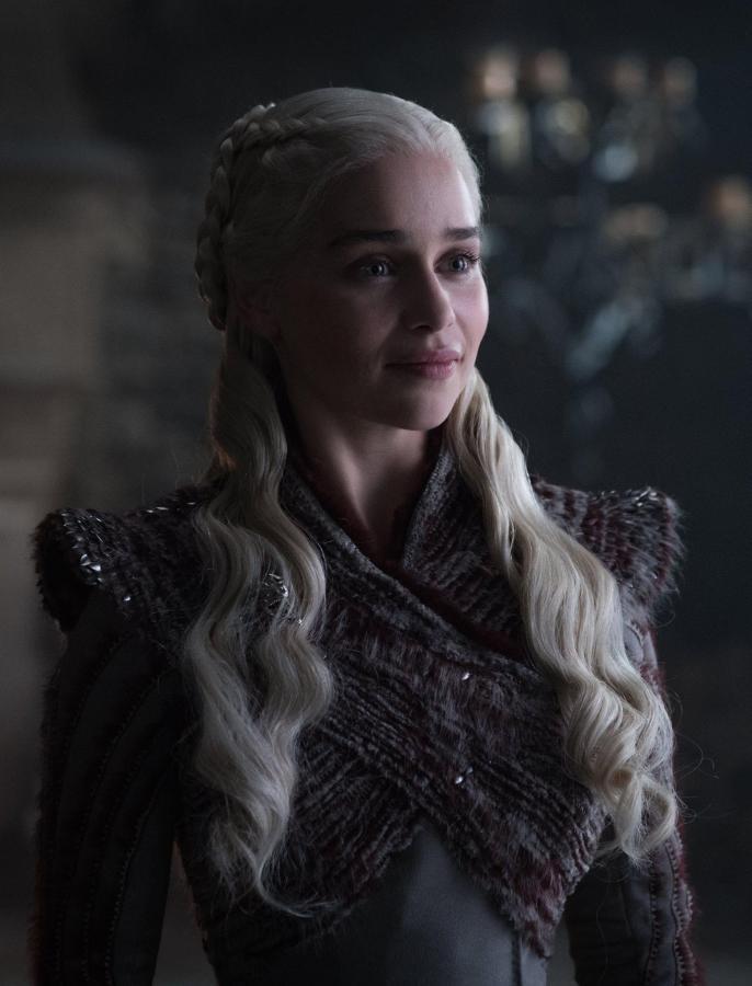 'Game of Thrones'  promotional still of Emilia Clarke who plays Daenerys Targaryen.  (via Facebook)