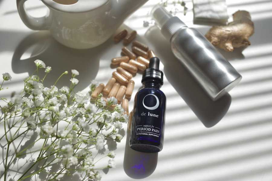 De Lune is a natural remedy for period pain. (Staff Photo by Katie Peurrung)