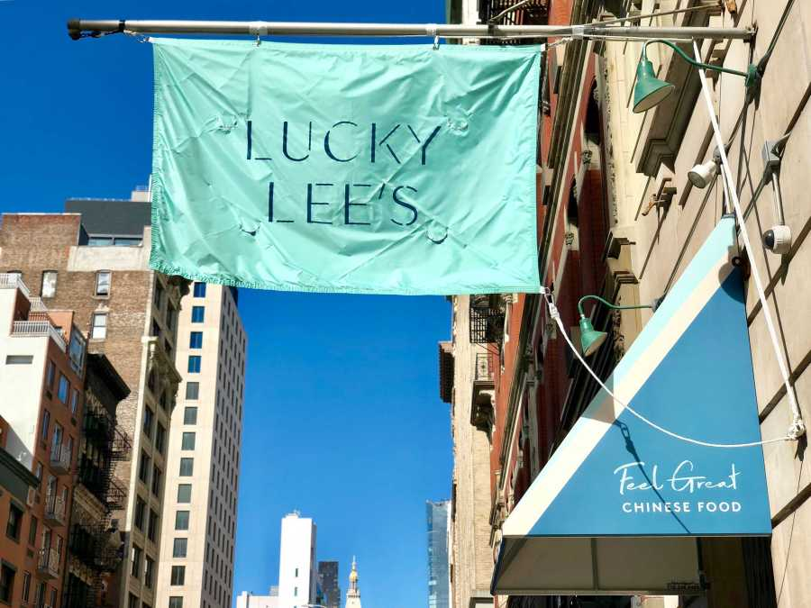 Lucky Lee's Chinese food restaurant (Staff Photo by Jorene He)