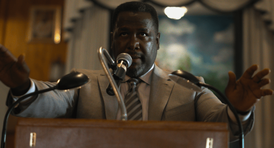 Wendell Pierce as a preacher