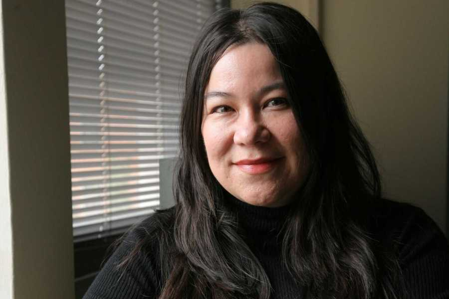 Poet Brenda Shaughnessy read to students at Lillian Vernon Creative Writers House on Sept. 13. (via Copper Canyon Press)
