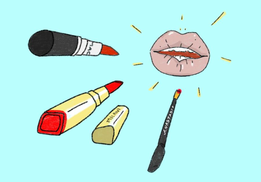 Our culture desk picks out their favorite red lippies. (Staff Illustration by Min Ji Kim)