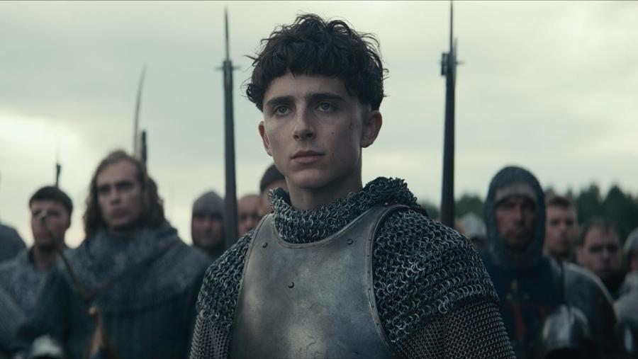 Timothée Chalemet stars in Netflix's new film, The King. (Via Netflix)