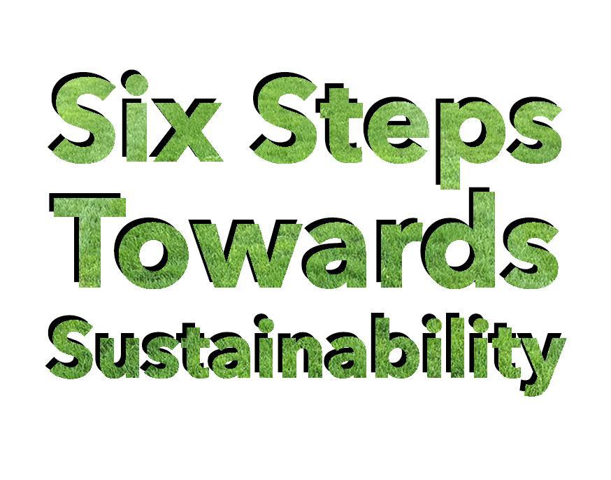 Six Steps Towards Sustainability
