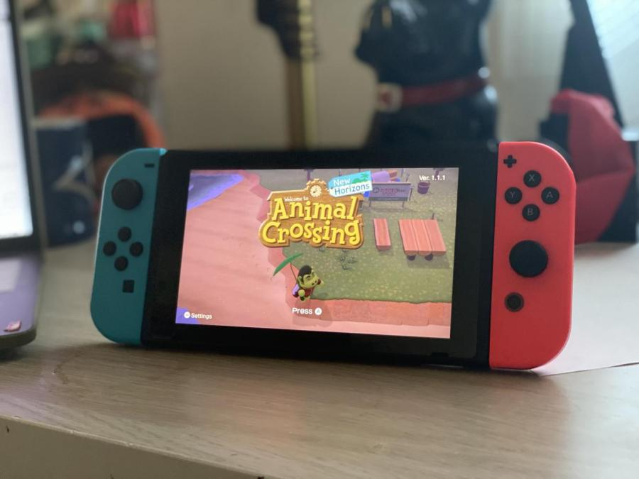 WSN stays busy with the newest Animal Crossing game. Here's what we've been doing to stay busy during quarantine. (Staff Photo by Bella Gil)
