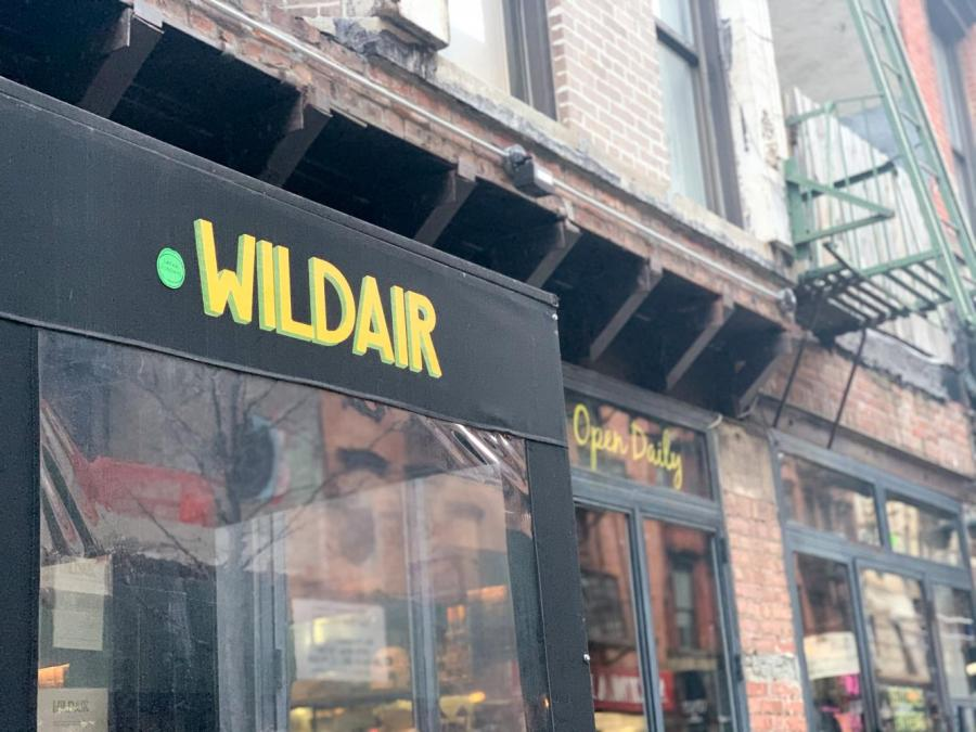 Wildair is a small natural wine bar in the Lower East Side. With its appeal of versatility, this place is an ideal place for a date, drinks with friends or a glass of wine enjoyed with some delicious snacks. (Staff photo by Alex Tran)