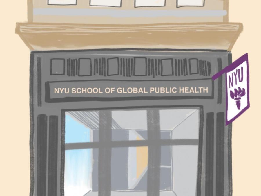 NYU's School of Global Public Health aims to expand across several buildings by 2021. The school has drawn up initial blueprints but have not been able to make progress since the COVID-19 health crisis. (Staff Illustration by Chelsea Li)