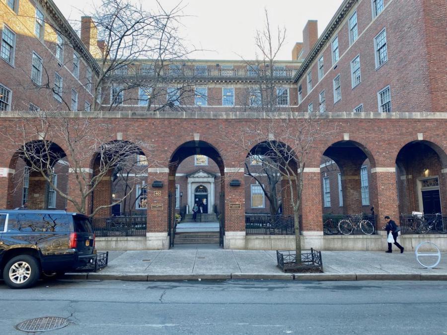 The Vanderbilt Hall on Washington Square S hosts the NYU Law School. NYU's School of Law has switched to a pass/fail grading system. (Photo by Nina Schifano)
