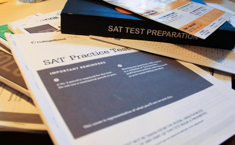 Standardized tests such as the SAT and ACT have worried many college applicants. NYU will not be test-optional for applicants for the Class of 2025. (Staff Photo by Alexandra Chan)