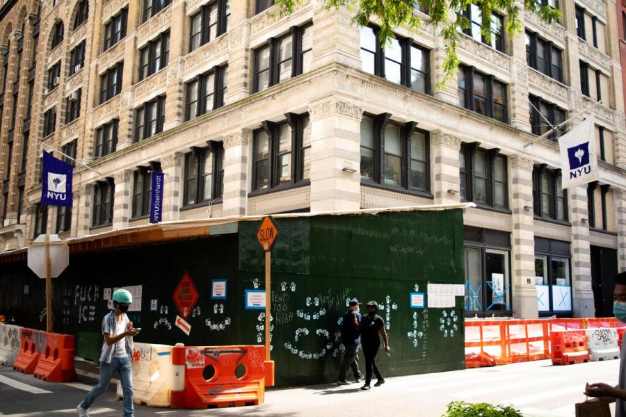 Steinhardt School of Culture, Education and Human Development is located at 82 Washington Square East. In a school-wide email, the school's Dean Jack H. Knott announced the creation of the Office of Equity, Belonging, and Community Action at Steinhardt, which will be led by Vice Dean E. Kirkland. (Staff Photo by Jake Capriotti)