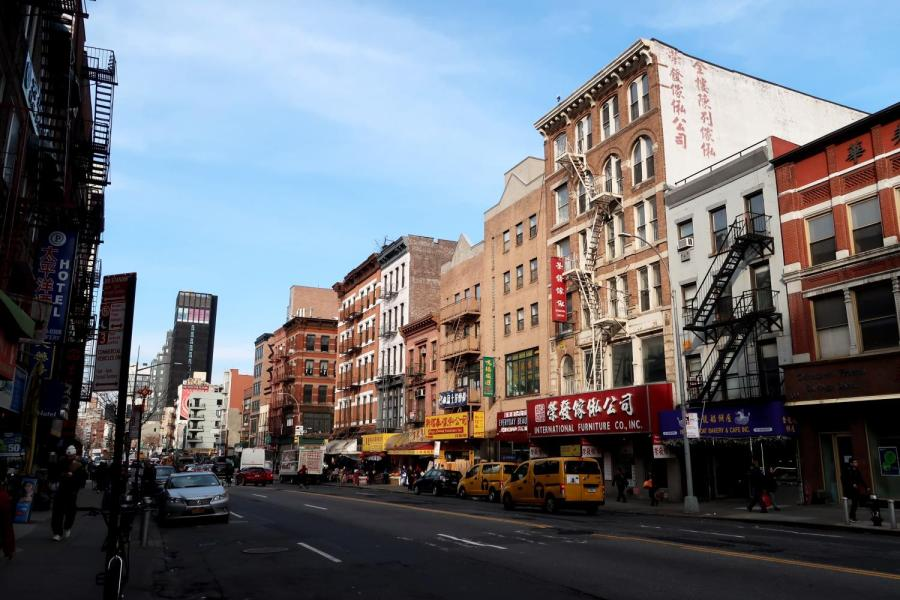 China Town was among the most affected communities during the pandemic and Black Lives Matter movement in NYC, both financially and medically. Listen to students accounts on their quarantine summer and how other areas of New York are similarly impacted. (Staff Photo by Chelsea Li)