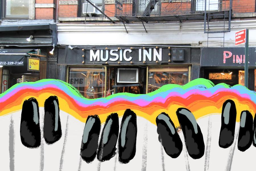Music Inn's displays are filled with intriguing instruments of all kinds, inviting visitors to peer inside on Sept. 18, 2020. (Staff photo by Alexandra Chan)