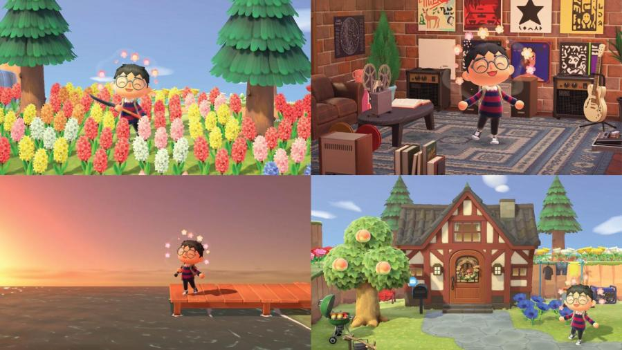 %22Animal+Crossing%3A+New+Horizons%22%2C+released+on+March+20%2C+2020%2C+is+a+life+simulation+game+played+in+real-time+on+the+Nintendo+Switch.+%E2%80%9CNew+Horizons%E2%80%9D+provided+its+users+a+virtual+safe+haven+during+the+first+months+of+the+pandemic.+%28Staff+Photos+by+Nathan+Chizen%2C+Staff+Illustration+by+Manasa+Gudavalli%29