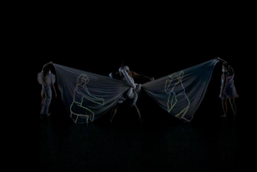 Seven+NYU+artists+collaborated+and+choreographed+six+distinct+pieces+in+the+two-hour+event%2C+Tisch+Dance+Works+IV%3A+Dance+%26+Technology+Concert.+While+managing+COVID-19+restrictions%2C+these+students+merged+the+artistry+of+dance+and+technology+to+create+this+performance.+%28Photo+by+Owen+Mosher+Burnham%29