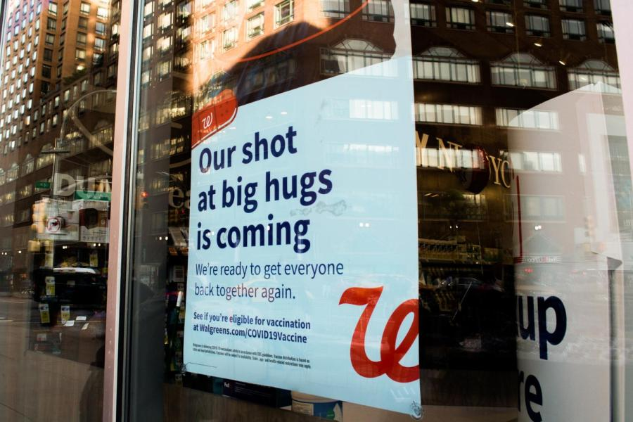 Pharmacies including this Duane Reade are participating in the city-wide vaccine rollout. NYU will also begin scheduling vaccine appointments for students. (Staff Photo by Manasa Gudavalli)