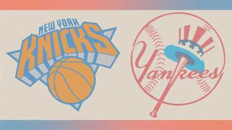 The Knicks are a staple of sports and entertainment in New York City. Recent wins for the team have created excitement for the residents of the city. (Illustration by Renee Shohet)