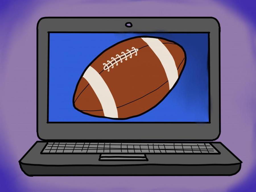 The upcoming Fall season brings with it a new Fantasy Football season as well. The classic football fan hobby is full of strategy and jargon. (Staff Illustration by Manasa Gudavalli)