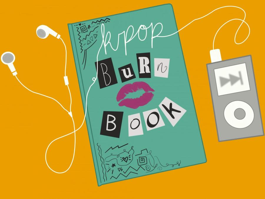 Welcome to Alex and Joeys K-pop burn book. Feel free to disagree but we stand by our opinions. (Staff Illustration by Manasa Gudavalli)