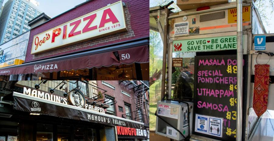 Turns out, eating out in New York doesn't have to be expensive. Check out these restaurants for delicious meals you can get on a tight budget. (Staff Photos by Ryan Kawahara and Manasa Gudavalli)