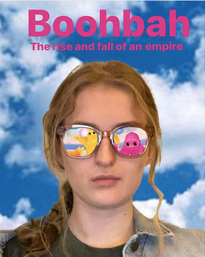 """The promotional poster for Scharlins upcoming interactive theatrical experience """"Boohbah: The Rise and Fall of an Empire."""" (Image courtesy of Molly Scharlin)"""