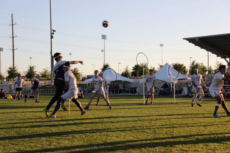 NYU's Quidditch team was looking forward to returning to playing games for the first time since COVID-19 began. However, a new policy from NYU's Center for Student Life has suspended all in-person activities for performing arts and sports clubs. (Image courtesy of NYU Quidditch)