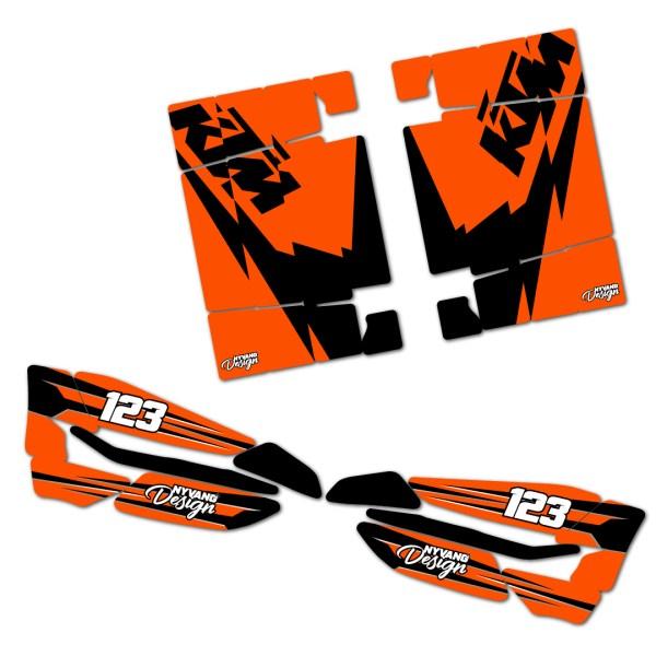 KTM Sticker Accessories