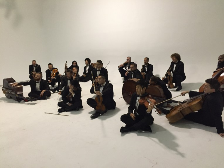 New York Orchestras 20-piece string orchestra