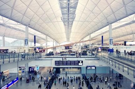 Hongkong, Check Lap Kok Airport