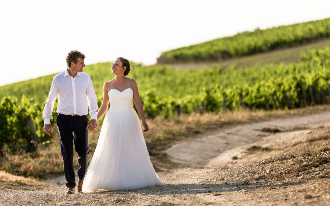 Ruth and Guillaume vineyard