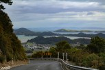 The drive onward around the rest of the Coromandel Peninsula was defintiely interesting, to say the least. These had to be some of the craziest roads in all of New Zealand. This one that is very steep, had tight curves, leads down into Coromandel Town below. roads in all of New Zealand. This one that leads down into Coromandel Town below is very steep and had tight curves.