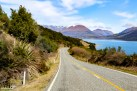 Driving back to Queenstown we got a different perspective of the same road--just as beautiful!
