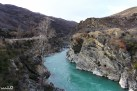 The blue Kawarau River