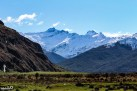 A clear view of Mt Aspring/Tititea (the one on the right in the back that is slightly more jagged, though we often confused ourselves which one was mt Aspiring/Tititea)