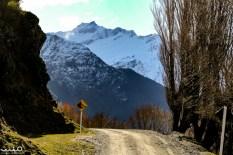 The Wanaka-Mt Aspiring Road keeps going on toward the Rob Roy Glacier.