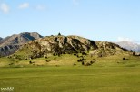 """William called this """"One Tree Hill"""" for the one prominent pine tree that stood out on this somewhat Edoras-like hill."""