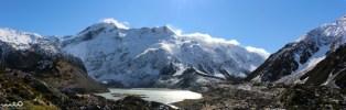 Muller Glacier Lake lookout on the Hooker Valley Track, Mt Cook National Park