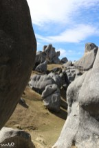 Looking through boulders--you could easily get lost in this place--no two views looked the same